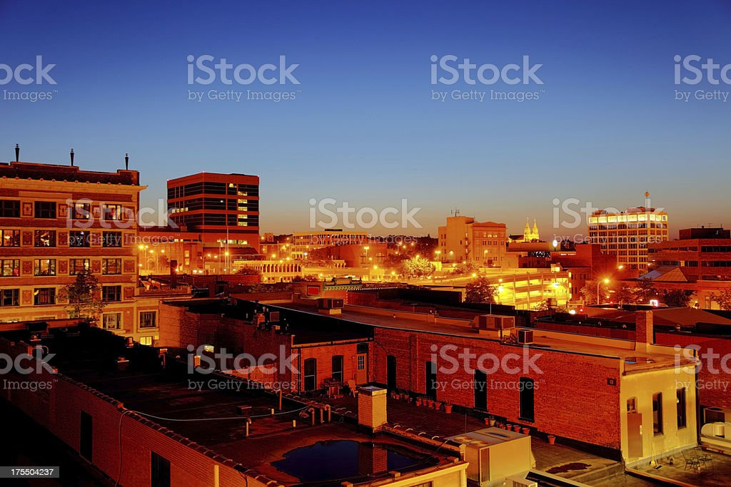 Sioux Falls royalty-free stock photo