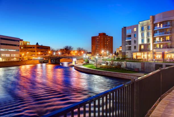 Sioux Falls, South Dakota stock photo