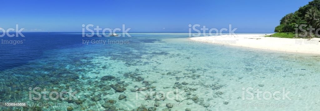 Sipadan Island stock photo
