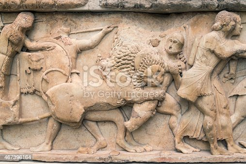 istock Siphnian Treasury from the Ancient Greek civilization (ca. 530 BC) 467396164