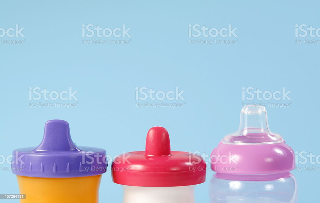 Sippy Cups stock photo
