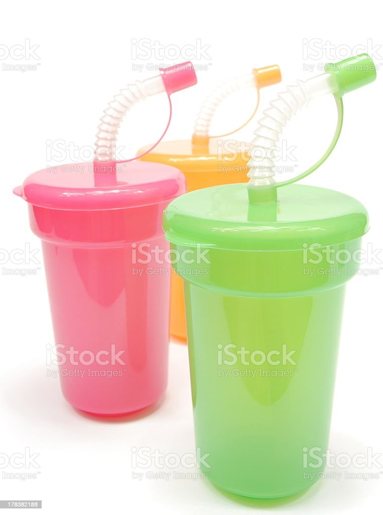 sippy mugs stock photo