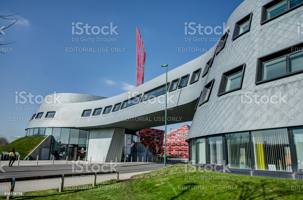 Sir Colin Campbell Building stock photo