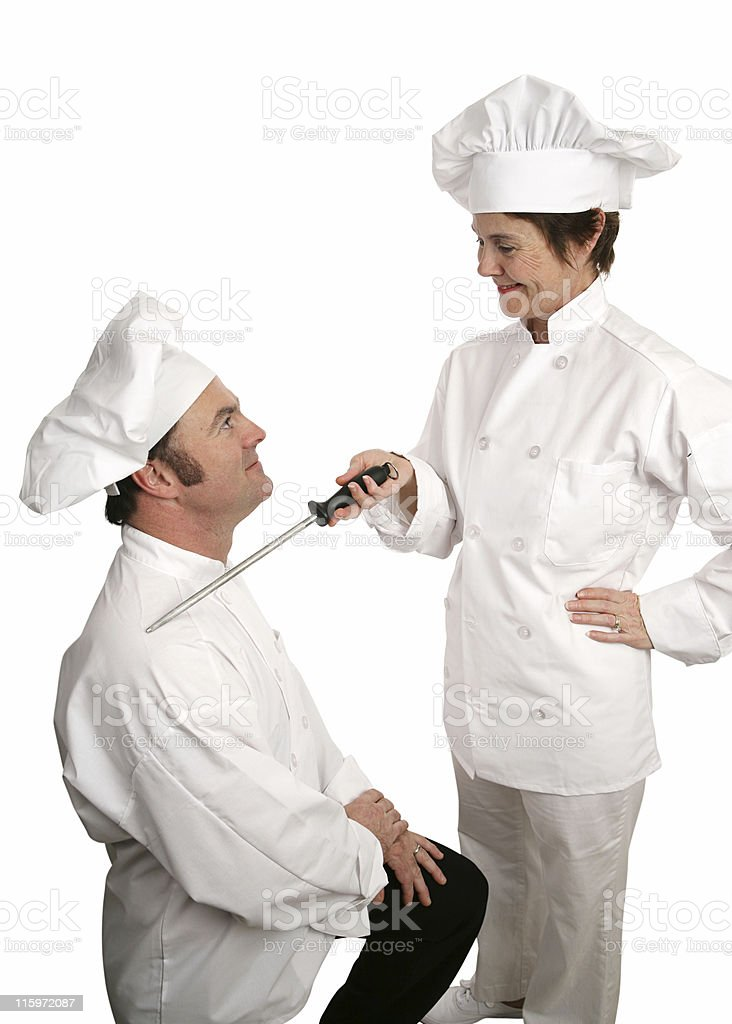 Sir Cooks-a-lot royalty-free stock photo