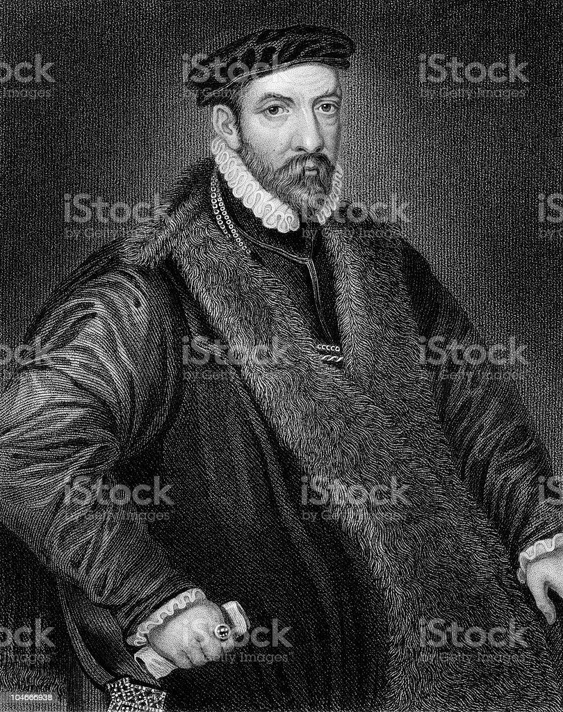Sir Nicholas Bacon royalty-free stock photo