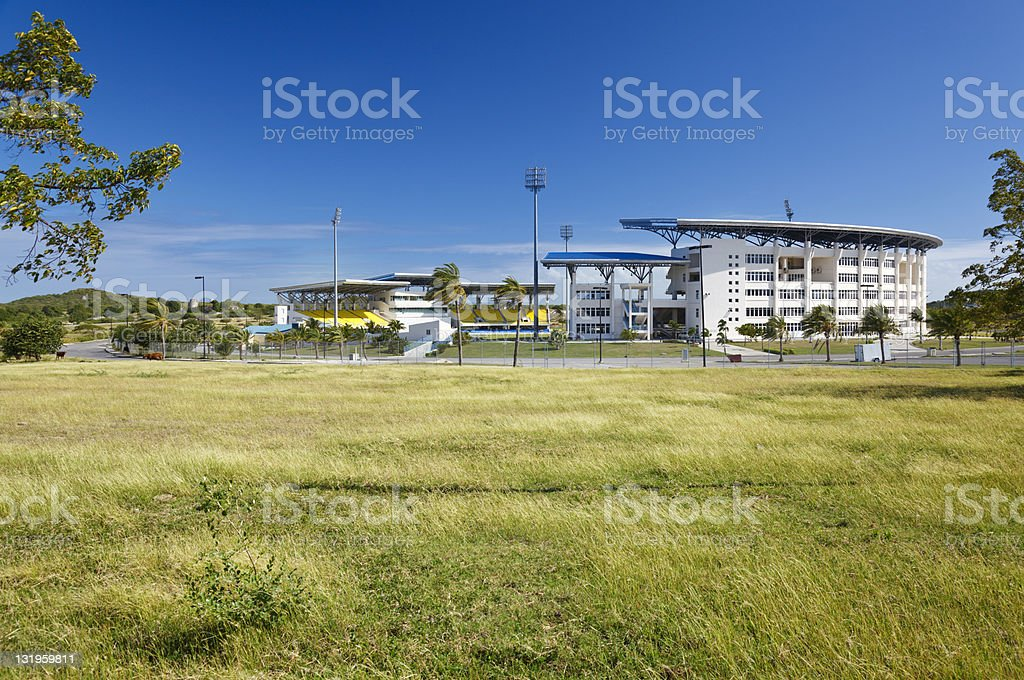 Sir Vivian Richards Cricket Stadium, Antigua - Royalty-free Antigua & Barbuda Stock Photo