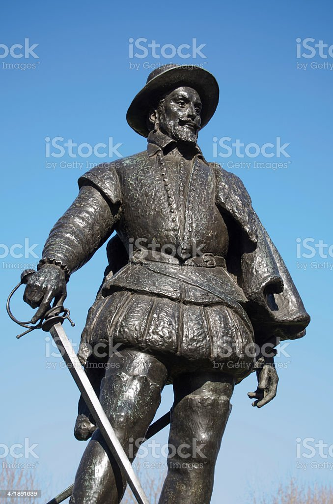 Sir Walter Raleigh Monument, Greenwich royalty-free stock photo