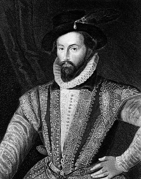 Sir Walter Raleigh,English aristocrat.