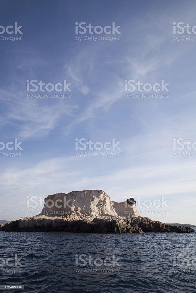 siren reefs and islands foca Phokaia izmir royalty-free stock photo