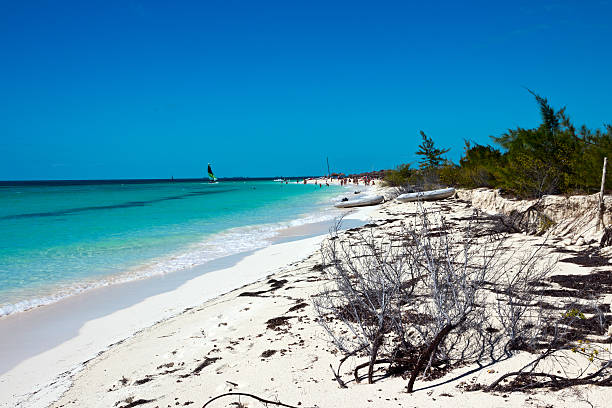 Playa Sirena,  Cayo Largo del Sur. - Cuba stock photo