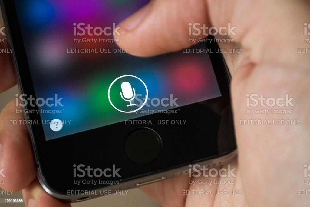 Siri stock photo