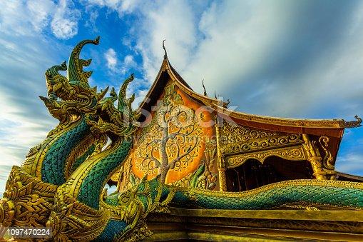 Gold, Light - Natural Phenomenon, Reflection, Asia, Thailand