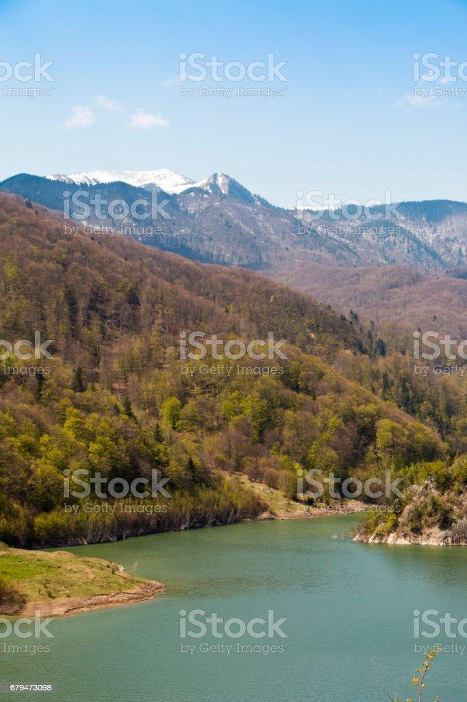 Siriu lake 免版稅 stock photo