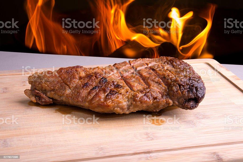 Sirloin Tri Tip Roast stock photo
