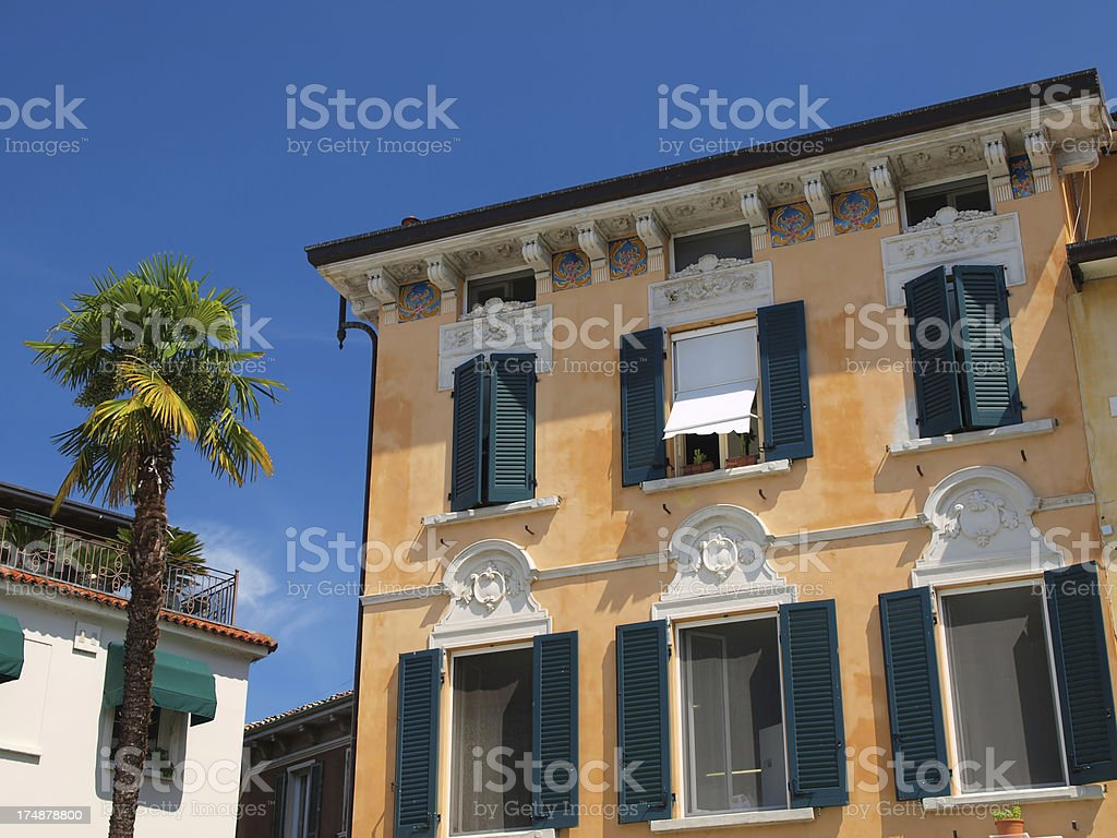 Sirmione detail royalty-free stock photo