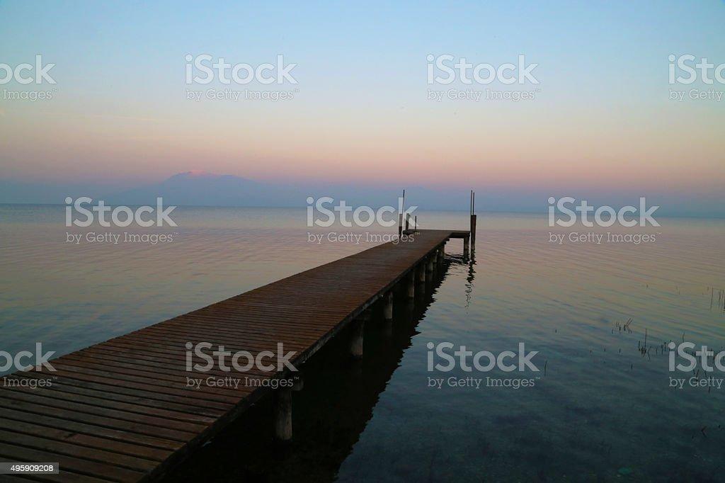 Sirmione - Lago di Garda stock photo