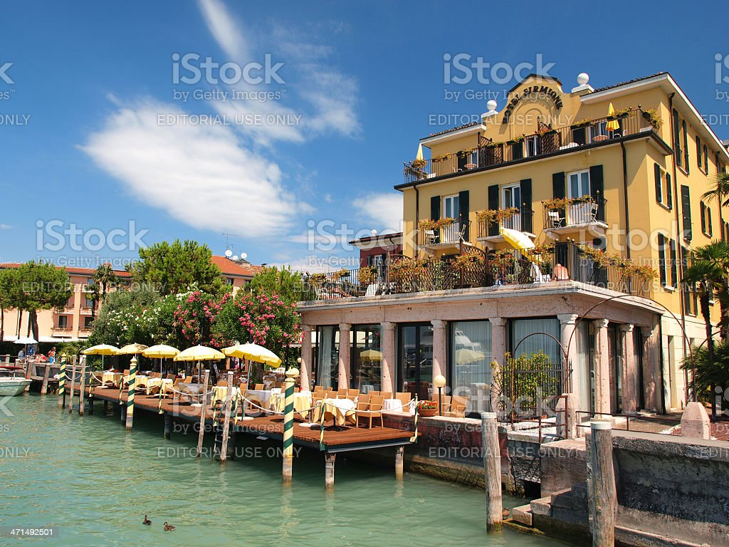 Sirmione royalty-free stock photo