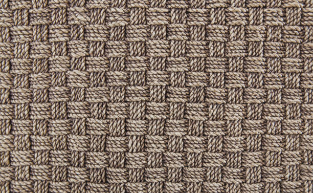 sisal carpet flooring background - sisal stock pictures, royalty-free photos & images