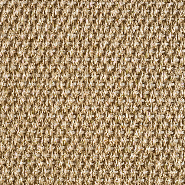 sisal carpet texture for background seamless tiles - sisal stock pictures, royalty-free photos & images