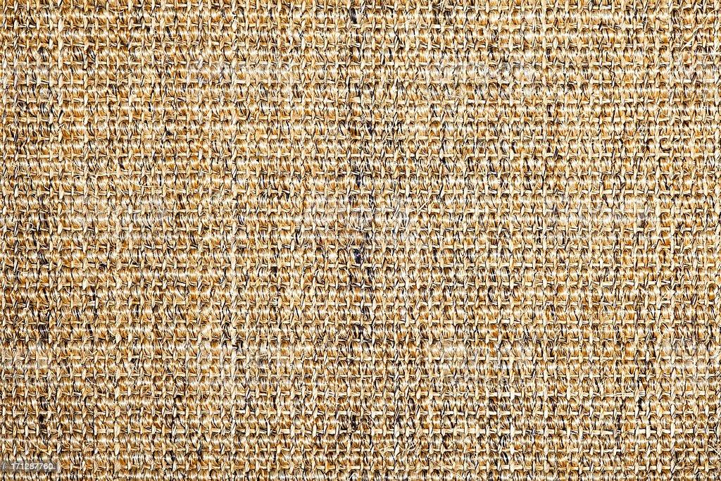 Sisal Teppich Textur. – Foto