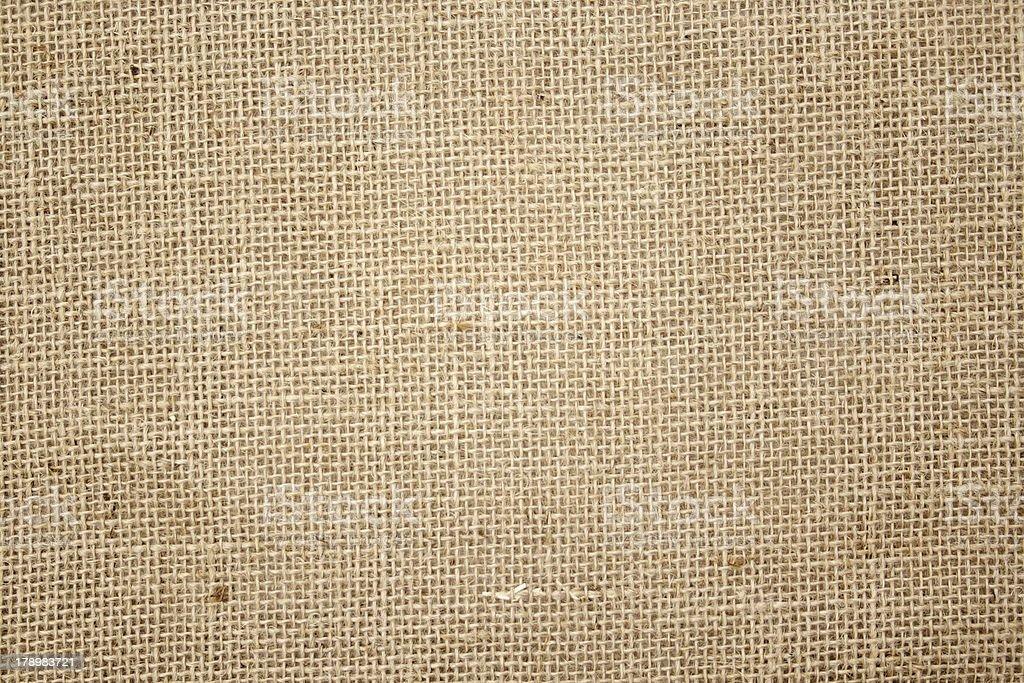 Sisal sack (Texture) stock photo