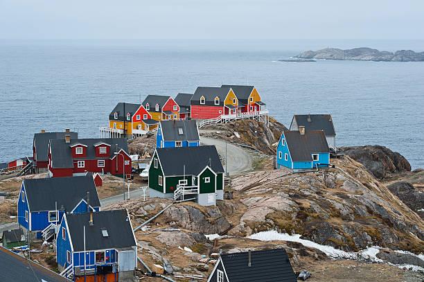 Sisimiut; Greenland stock photo