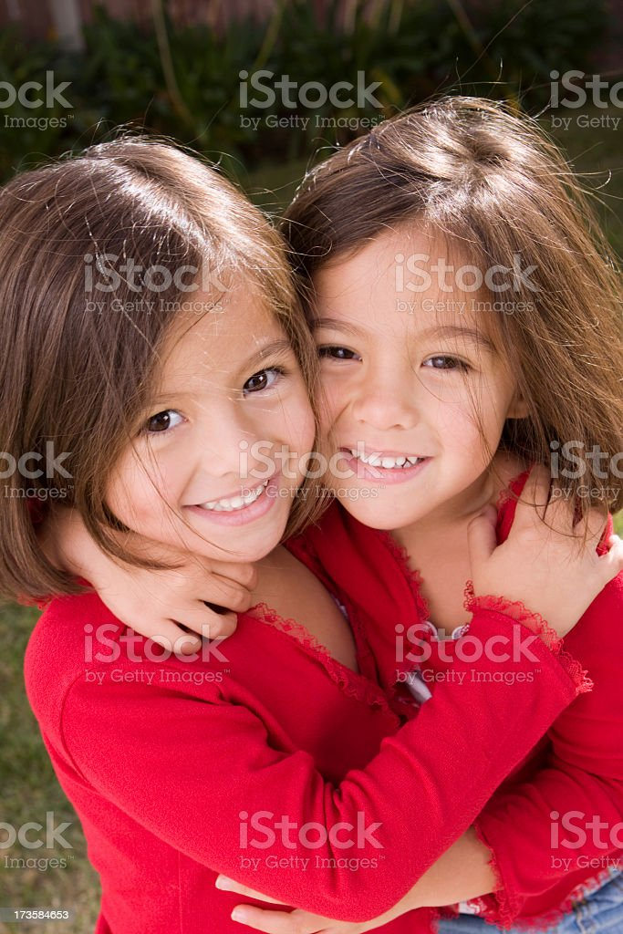 Sisters and Best Friends royalty-free stock photo