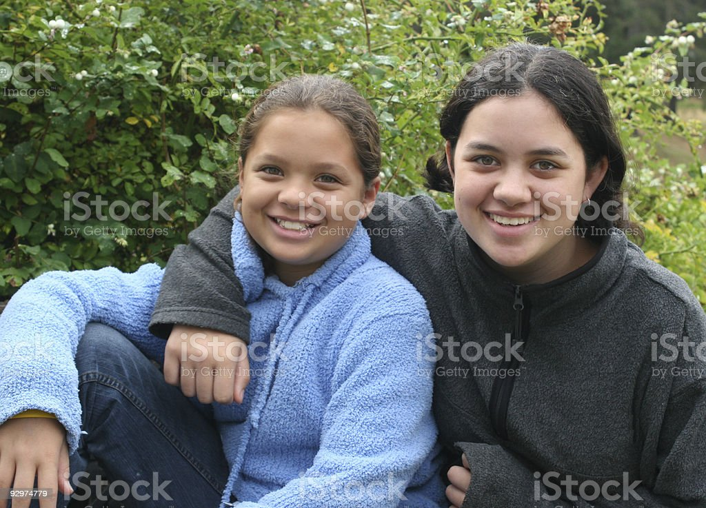 sisters - Royalty-free African Culture Stock Photo