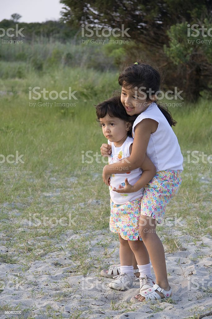 Sisters foto stock royalty-free