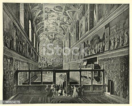 Vatican Museum Sistine Chapel Saint Peter's Basilica Cityscape Vatican Rome Italy