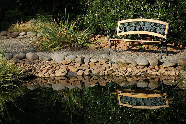 Sit by the Water stock photo