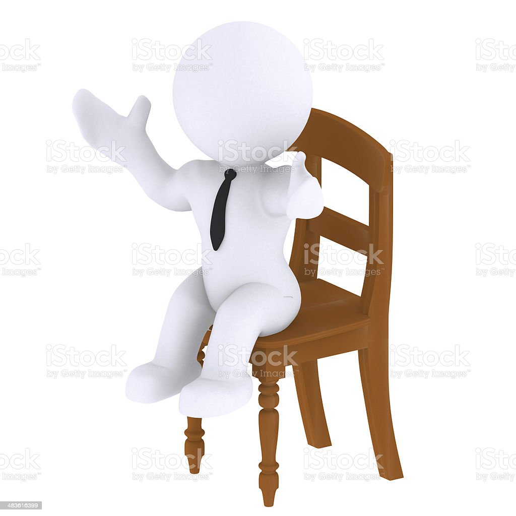 Sit down stock photo