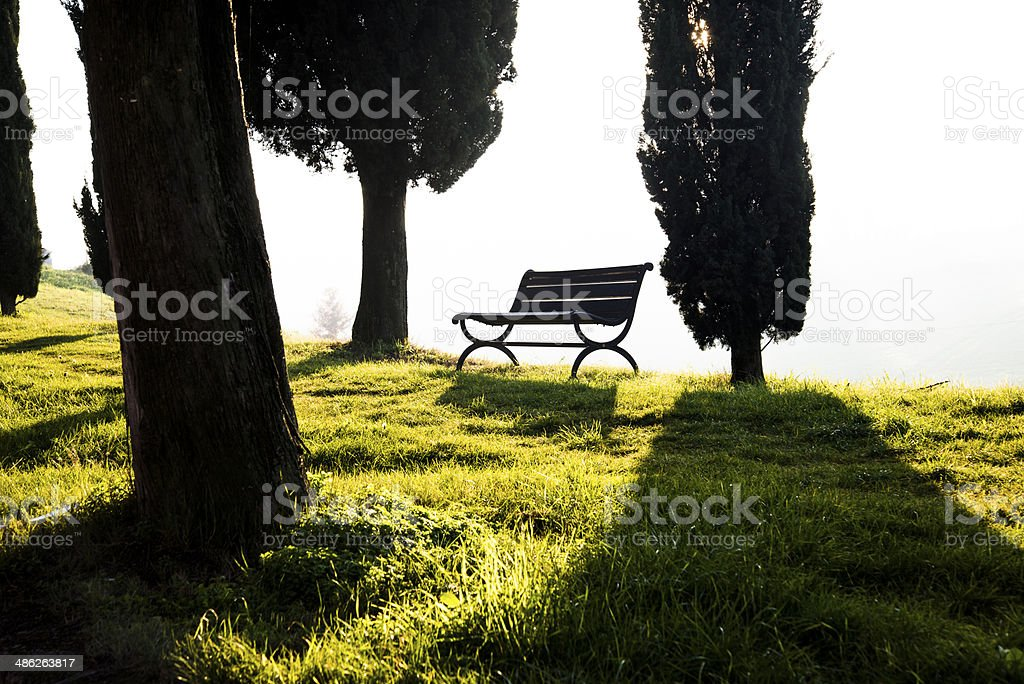 Sit down stock photo