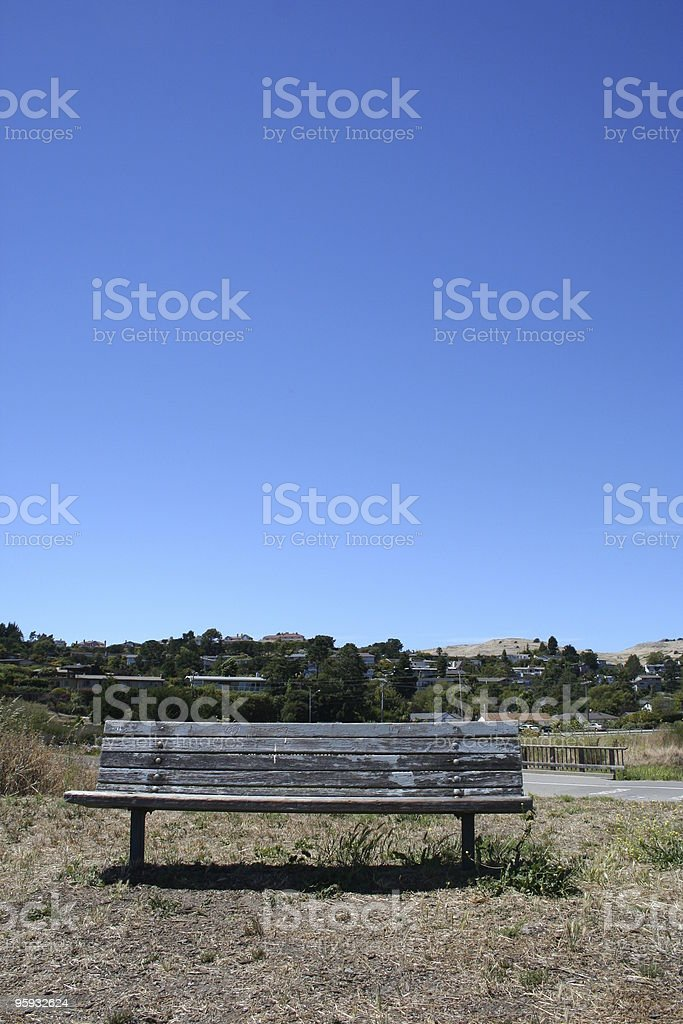 Sit Here royalty-free stock photo