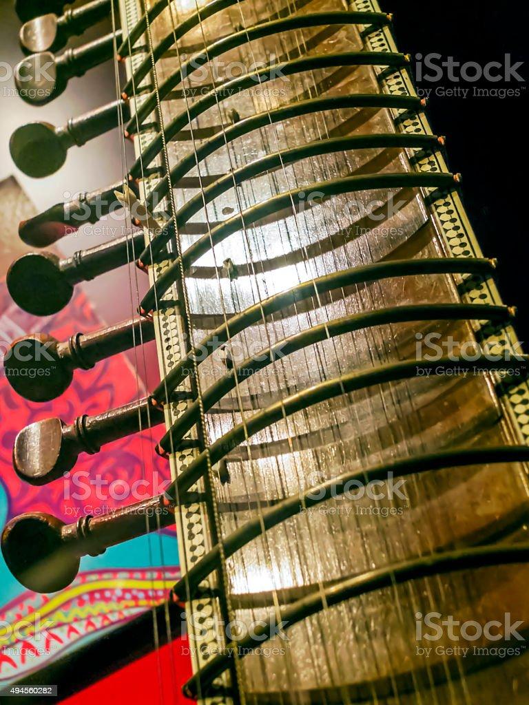 Sitar stock photo