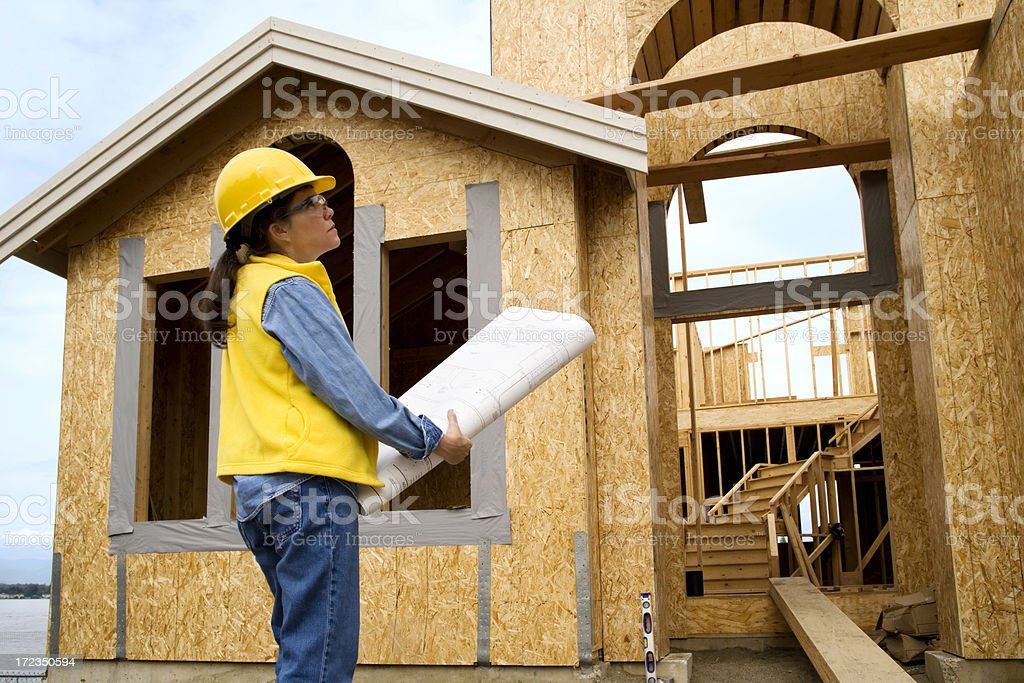 Site Inspection royalty-free stock photo