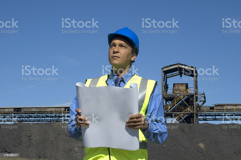 site manager royalty-free stock photo