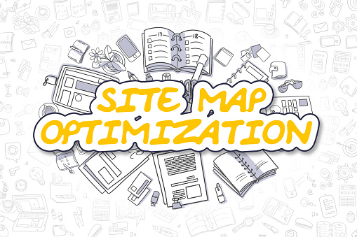 istock Site Map Optimization - Business Concept 682600658