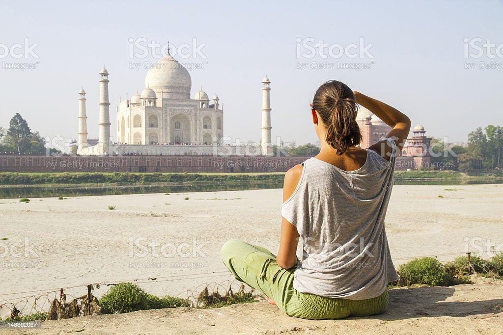 Sitzbereich im Taj Mahal – Foto