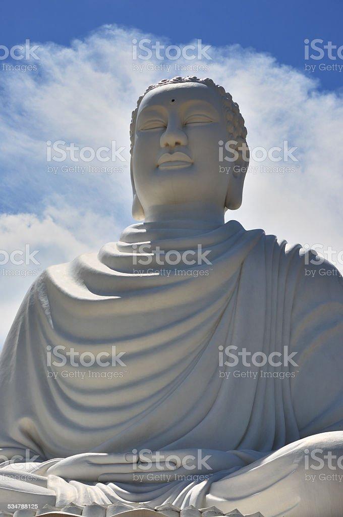 Sitting Buddha stock photo