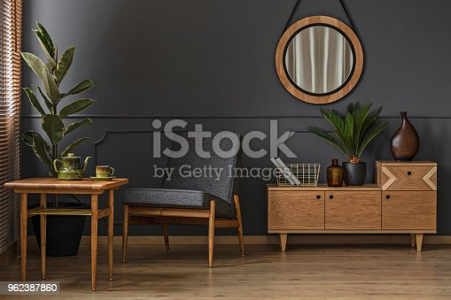 istock Sitting corner with table 962387860