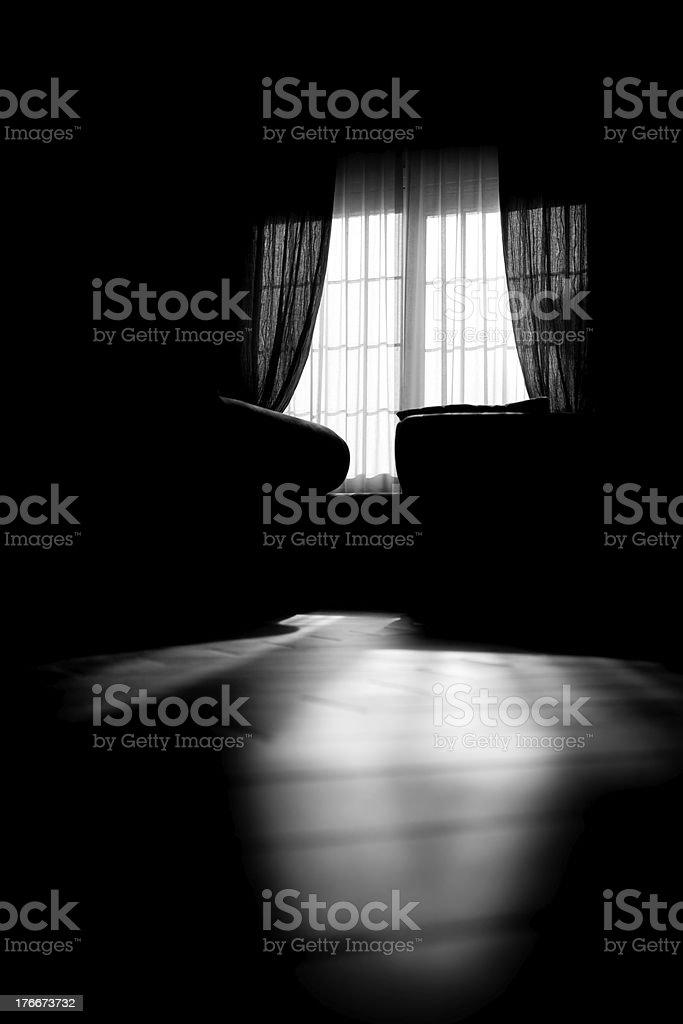 Sala de estar foto de stock libre de derechos