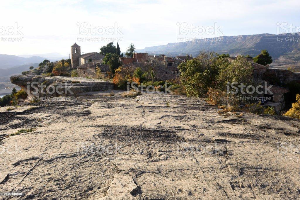 Siurana, El Priorat, Tarragona province, Catalonia, Spain stock photo