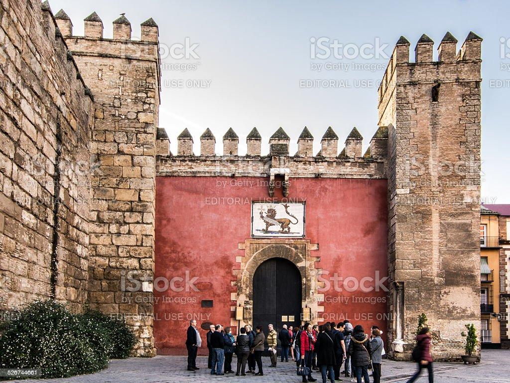 Siviglia, Real Alcazar stock photo