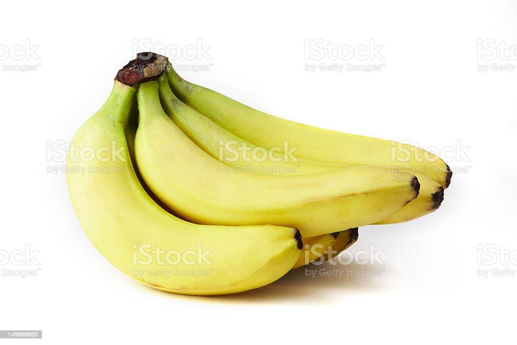 Six banana royalty-free stock photo