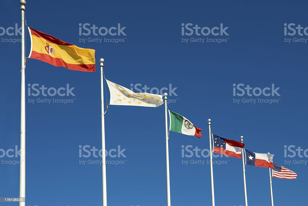 Six Flags of Texas royalty-free stock photo