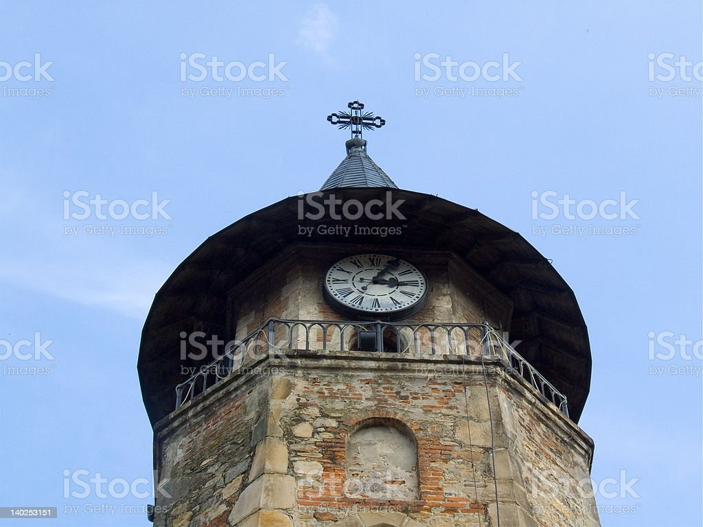six hundreds years old tower royalty-free stock photo
