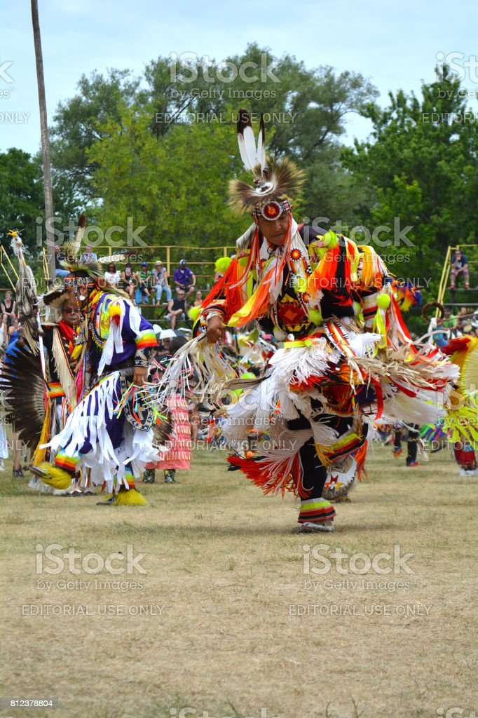 Six Nations of the Grand River Pow Wow. Ohsweken, Ontario, Canada stock photo