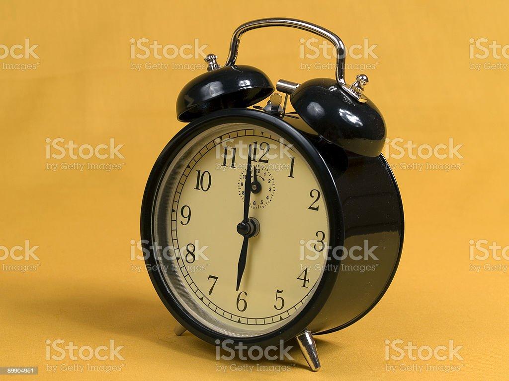 Six O'Clock royalty-free stock photo