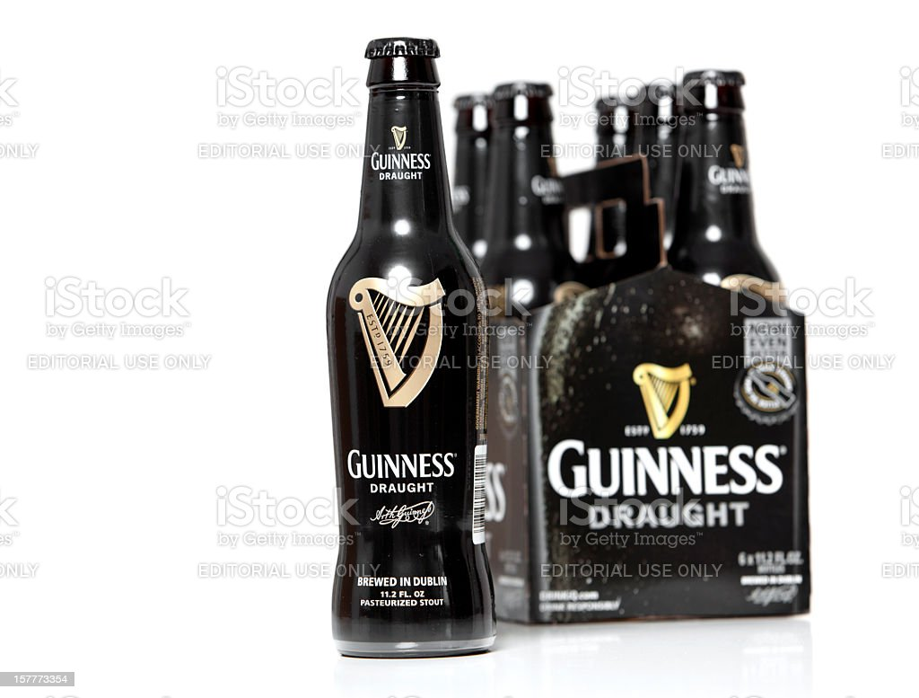 Six Pack of Guinness royalty-free stock photo